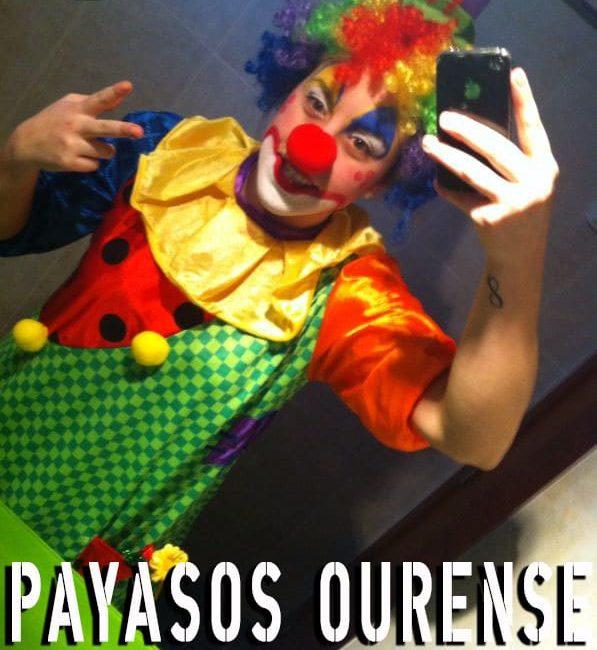 Payasos en Ourense