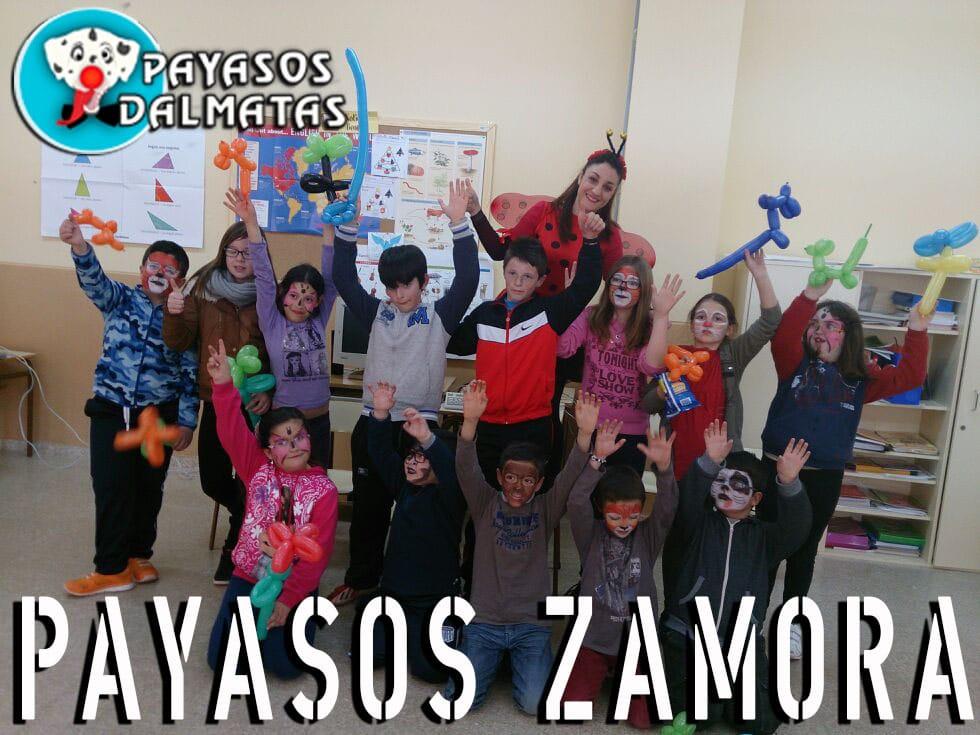 Payasos en Zamora