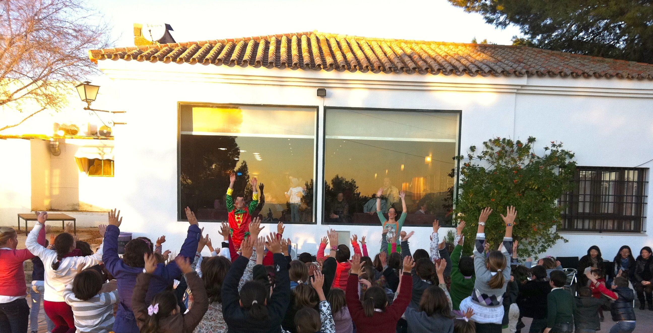 Payasos en Barcelona