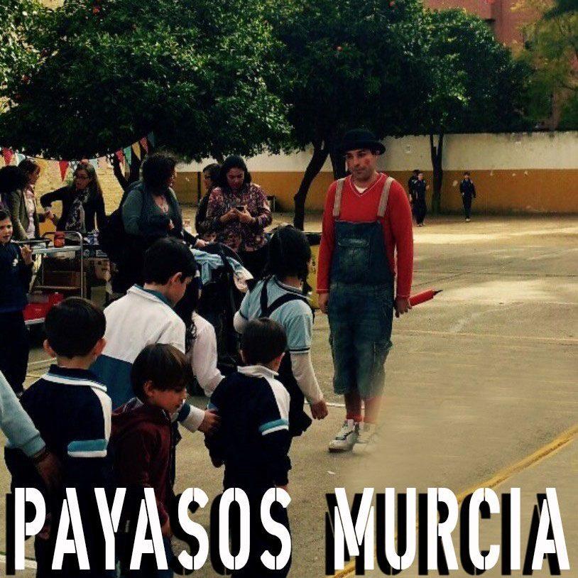 Payasos en Murcia