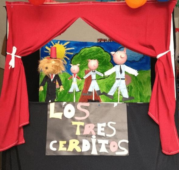 Cómo hacer un teatro de guiñol para niños
