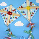 ¡Aprender a crear y decorar divertidas cometas!