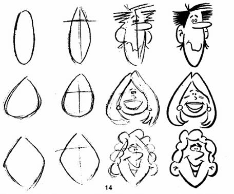 Trucos para hacer caricaturas de personas