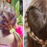 ¡Los mejores peinados divertidos para niñas del verano!