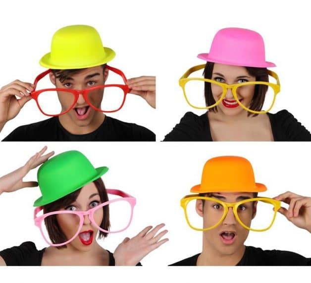 gafas de payaso