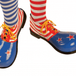 ¿Preparado para confeccionar tus propios zapatos de payaso?