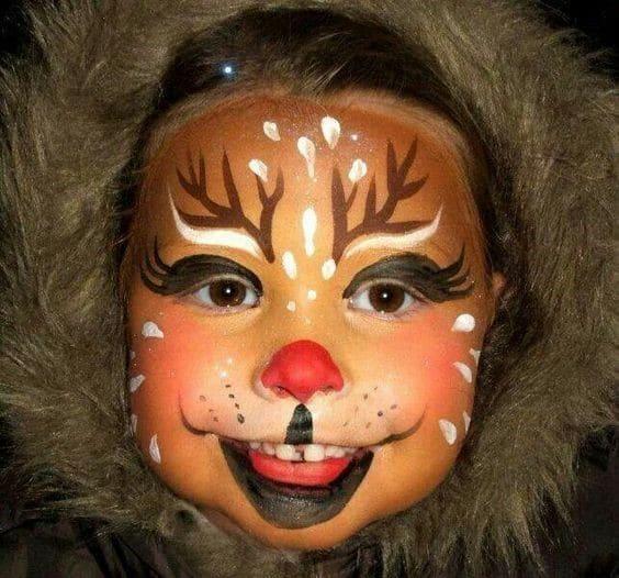 Pintacaras de Rudolph completo