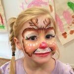 ¡Ya hemos empezado a practicar el pintacaras de Rudolph!