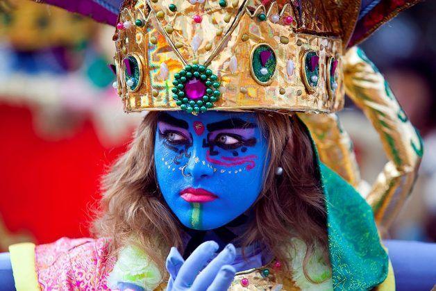 maquillaje de Carnaval para mujer