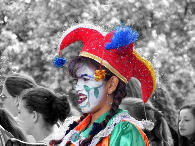 maquillaje de Carnaval para niña