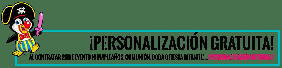 Personalizar evento en Estepona